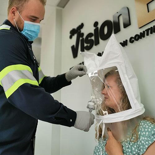 Masque N 95 Fit Test Firme Visionere
